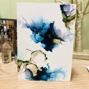 Abstract art wood panel